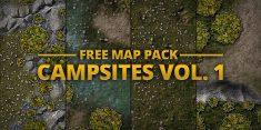 Campsites - Quick maps