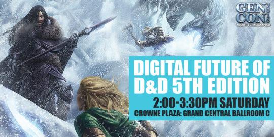 GenCon 2016 Panel Future of D&D