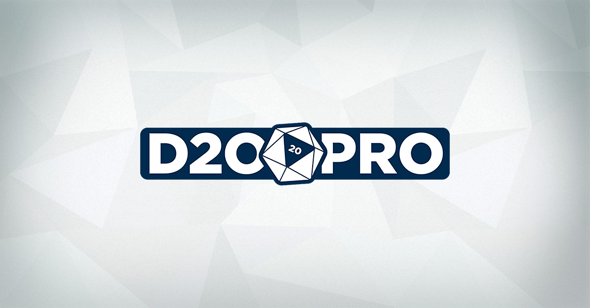 Cool New D20PRO Features Coming in 2017