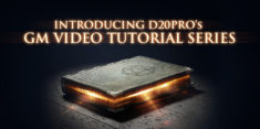 D20PRO Video Tutorials
