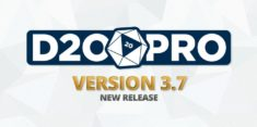 D20PRO Version 3.7 Now Available