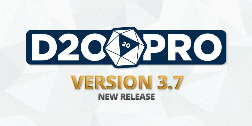 D20PRO Version 3.7