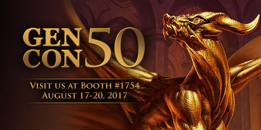 Come see D20PRO at Gen Con 2017