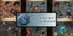 New Devin Night Creature Tokens