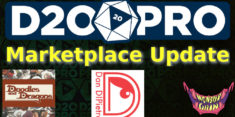 Marketplace Update – Monster Grin, Dan Dipietrio, Doodles and Dragons
