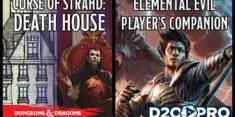 D&D Curse of Strahd: Death House & Elemental Evil Player's Guide