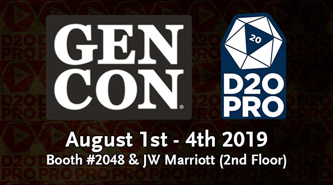 GenCon D20PRO 2019